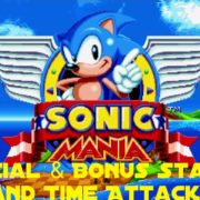 sonic mania special bonus stage time attack thenerdyweightlifter